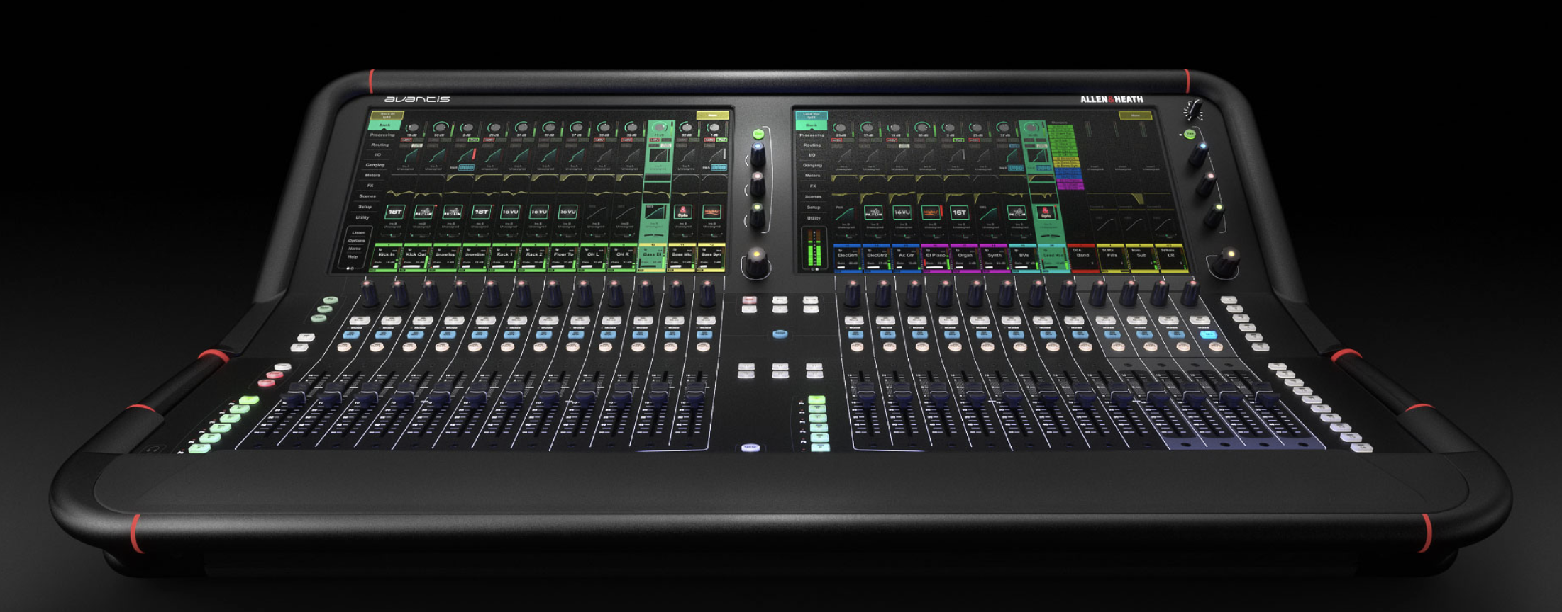 Allen & Heath Announces Third Installment in 96 kHz Mixer Trilogy: Avantis