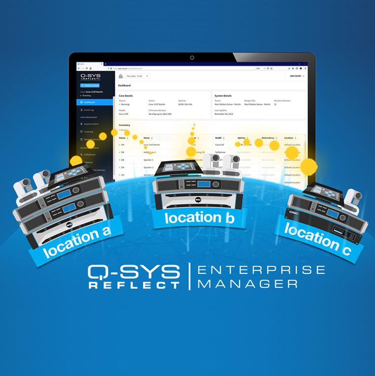 QSC Enterprise Manager